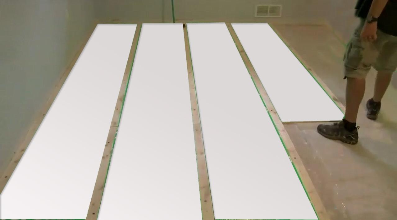 Basement Floor Insulation Materials