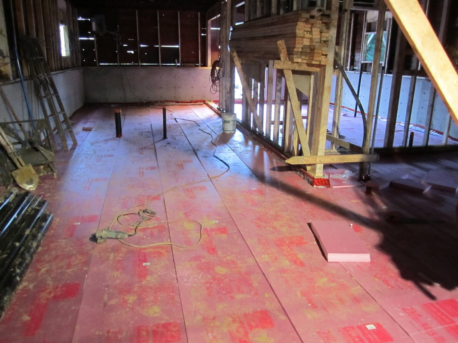 Basement Floor Insulation Vapor Barrier