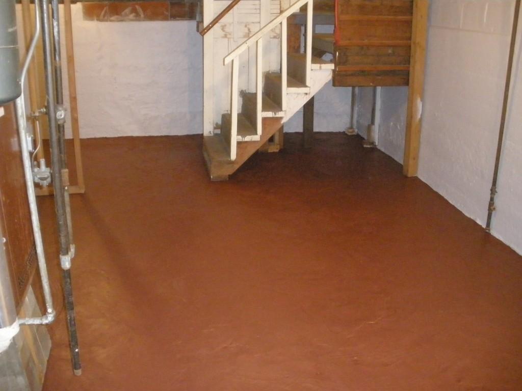 Basement Floor Sealer Waterproofer