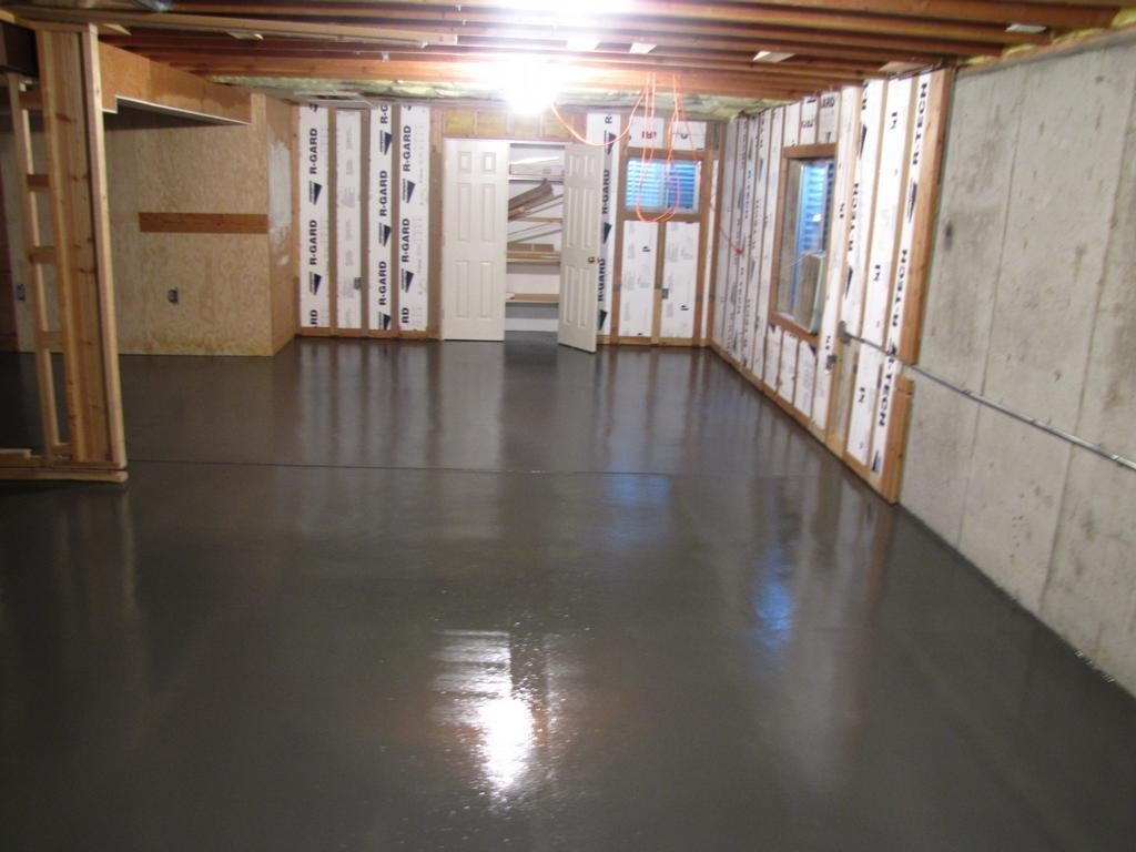 Basement Floor Sealing Products