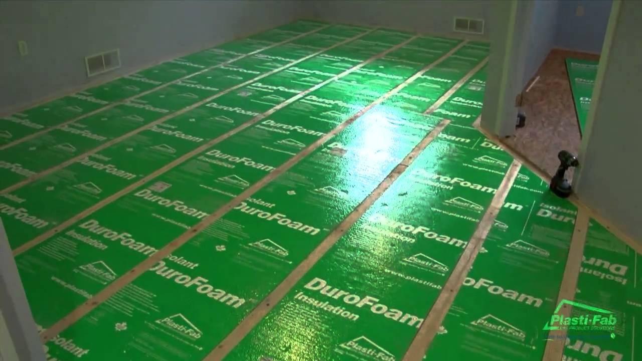 Basement Floor Subfloor Options
