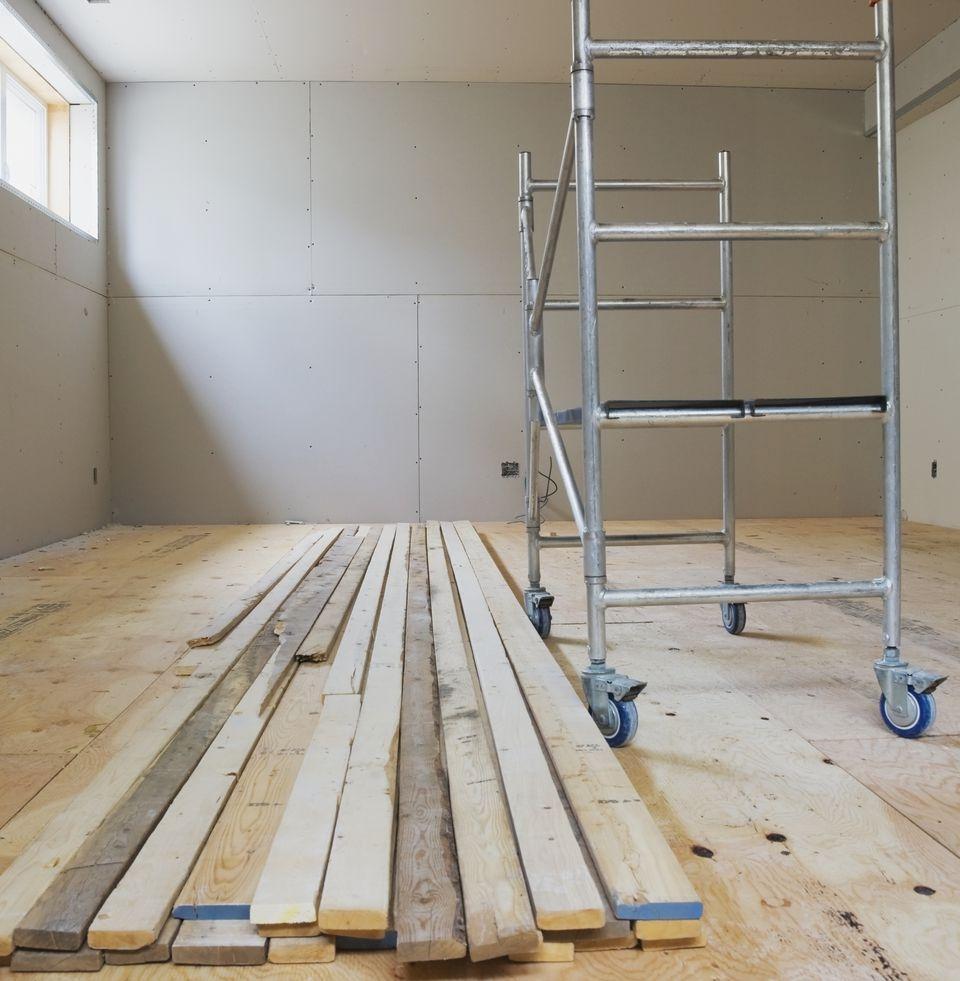 Basement Floor Underlayment Options
