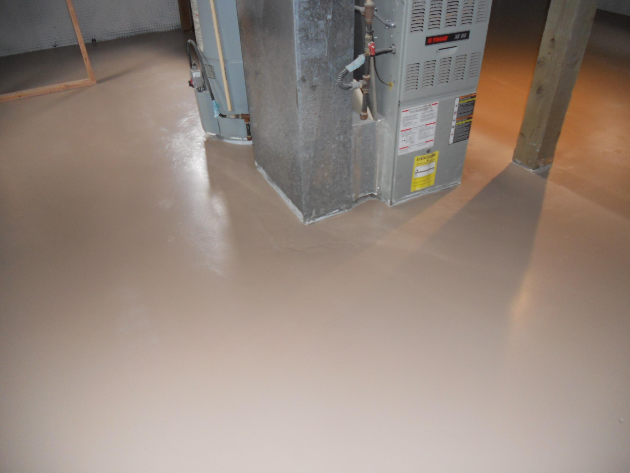 Basement Floor Waterproofer