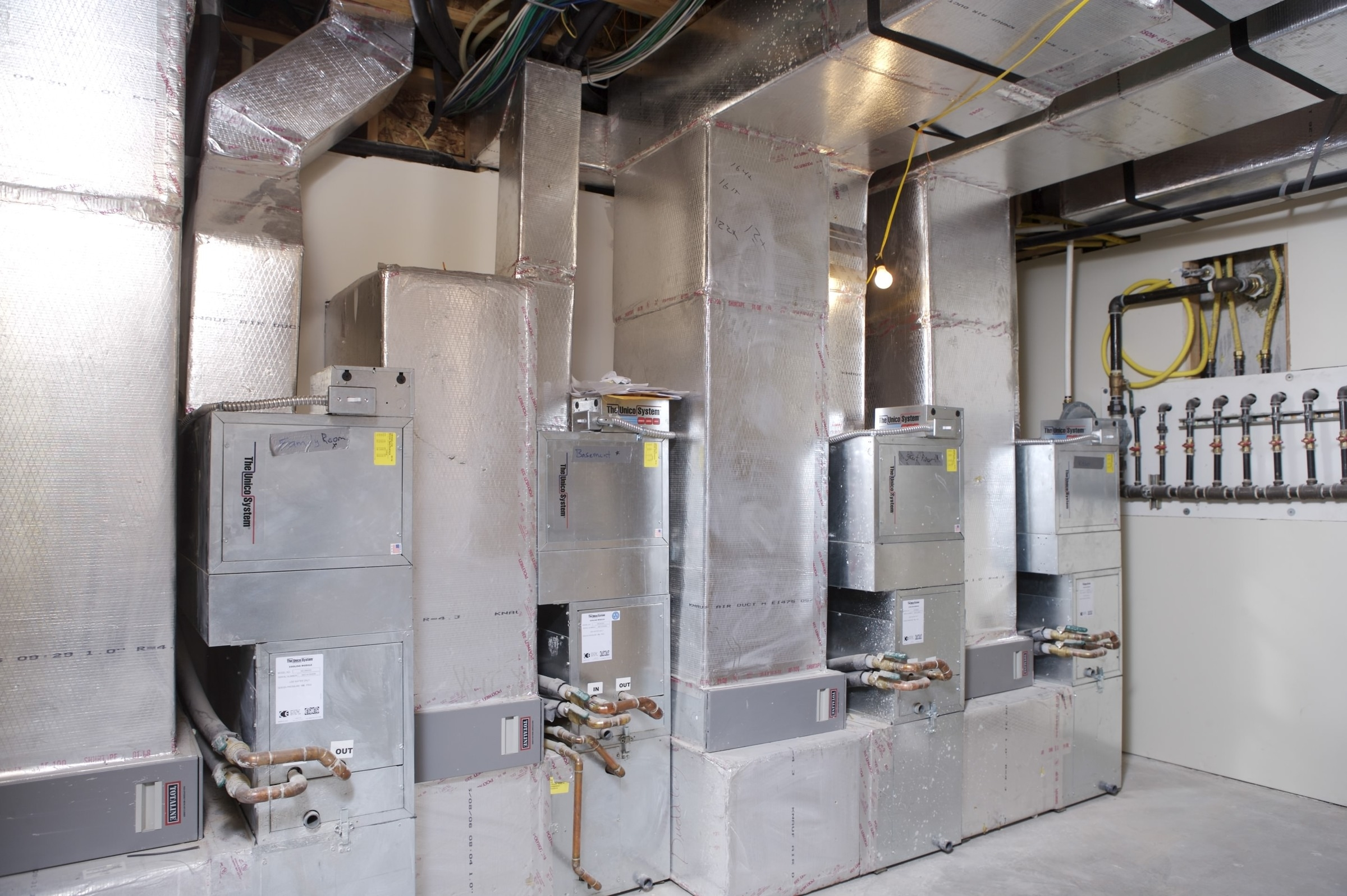 Basement Heating And Cooling Systems
