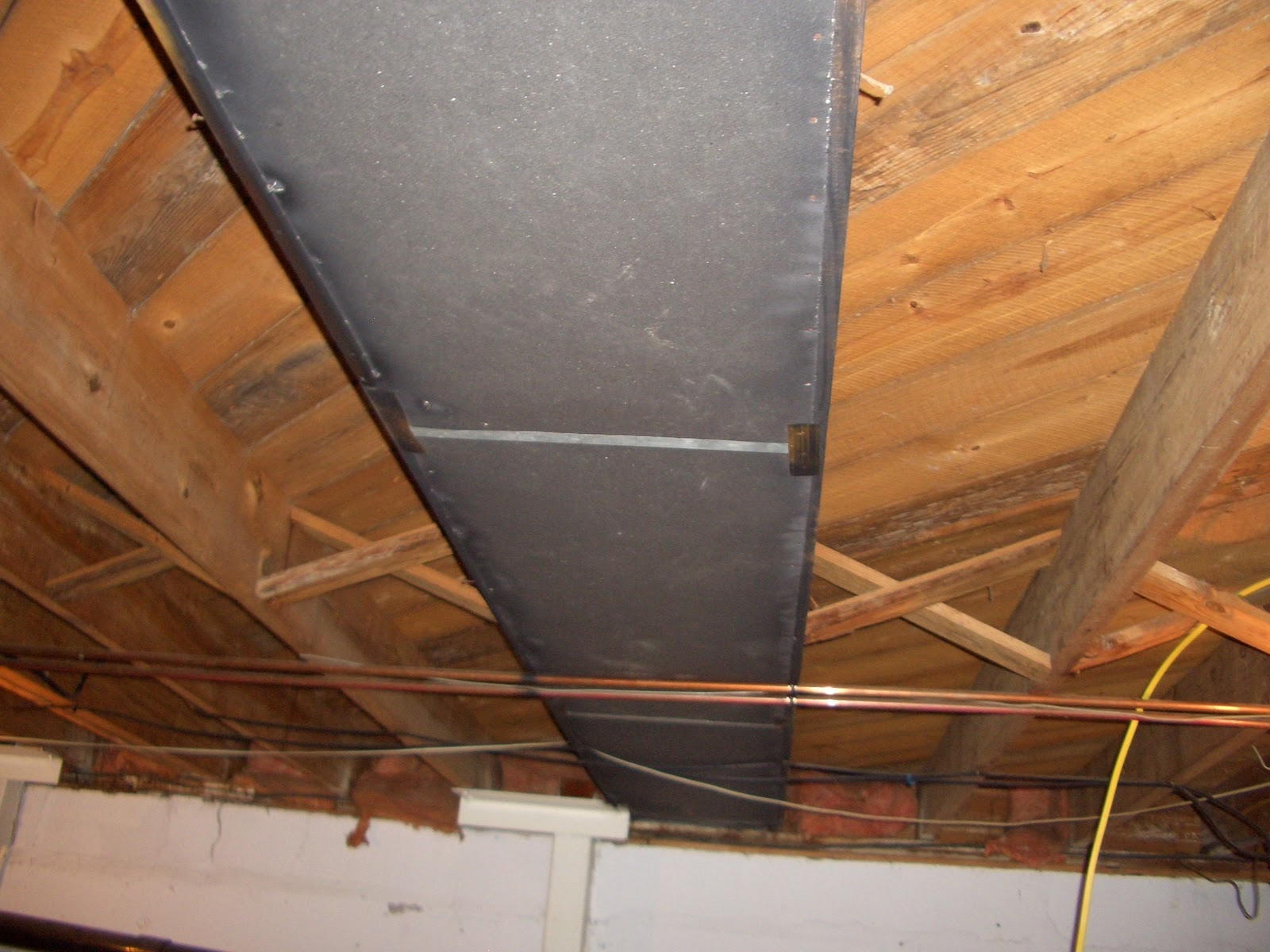 Basement Heating Vents Ceiling