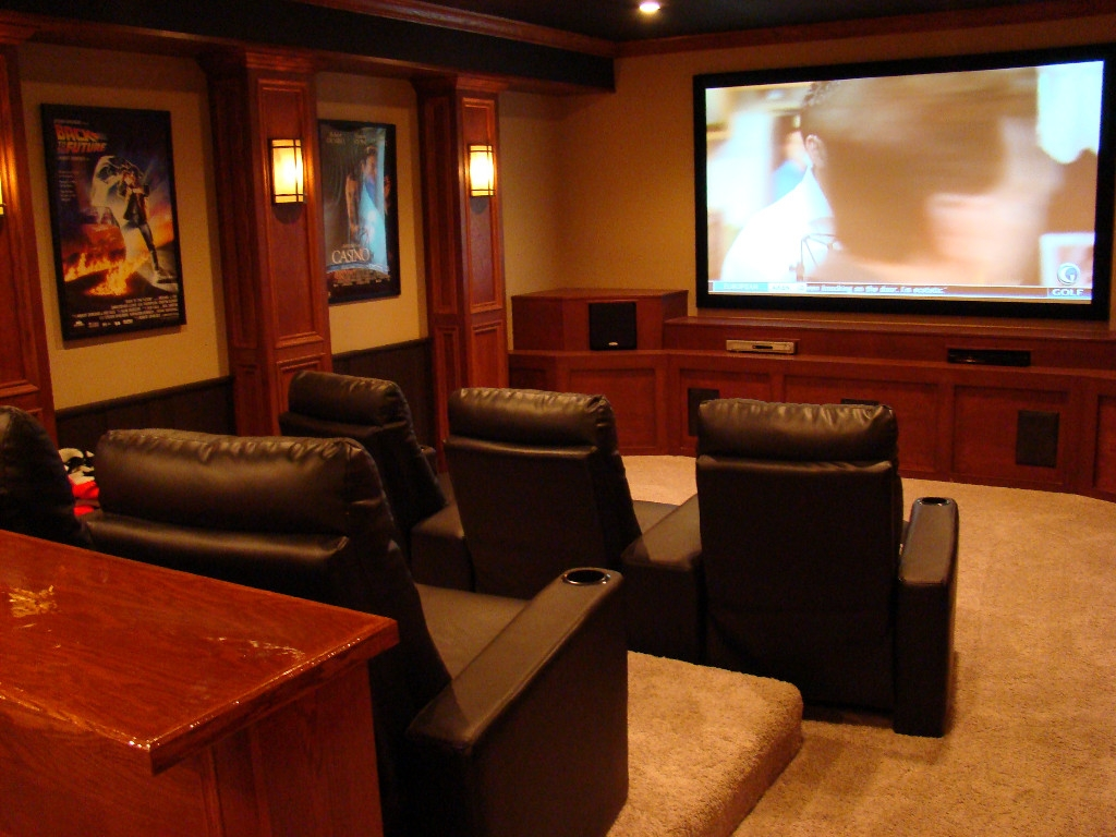 Basement Home Theater Ideas Photos