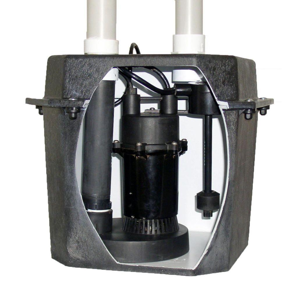 Basement Laundry Pump System