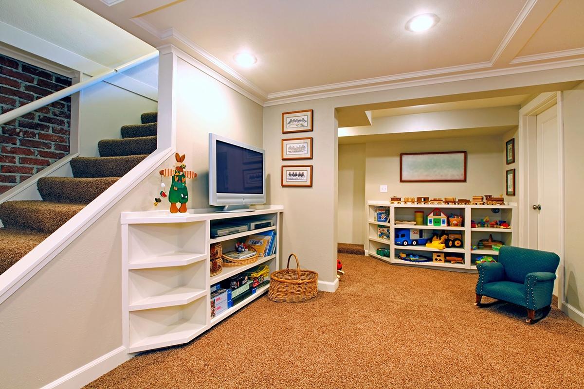 Basement Play Area Flooring