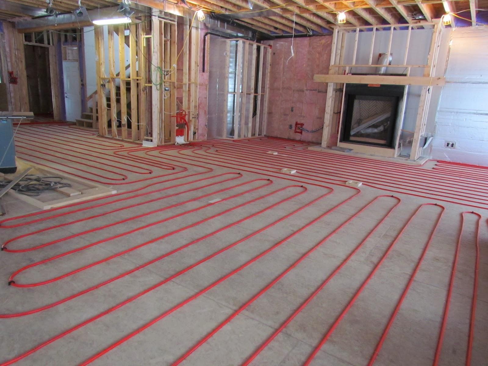 Basement Radiant Floor Heating Systems