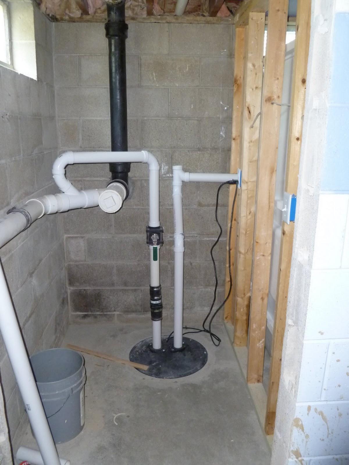 Basement Sewage Ejector Pump