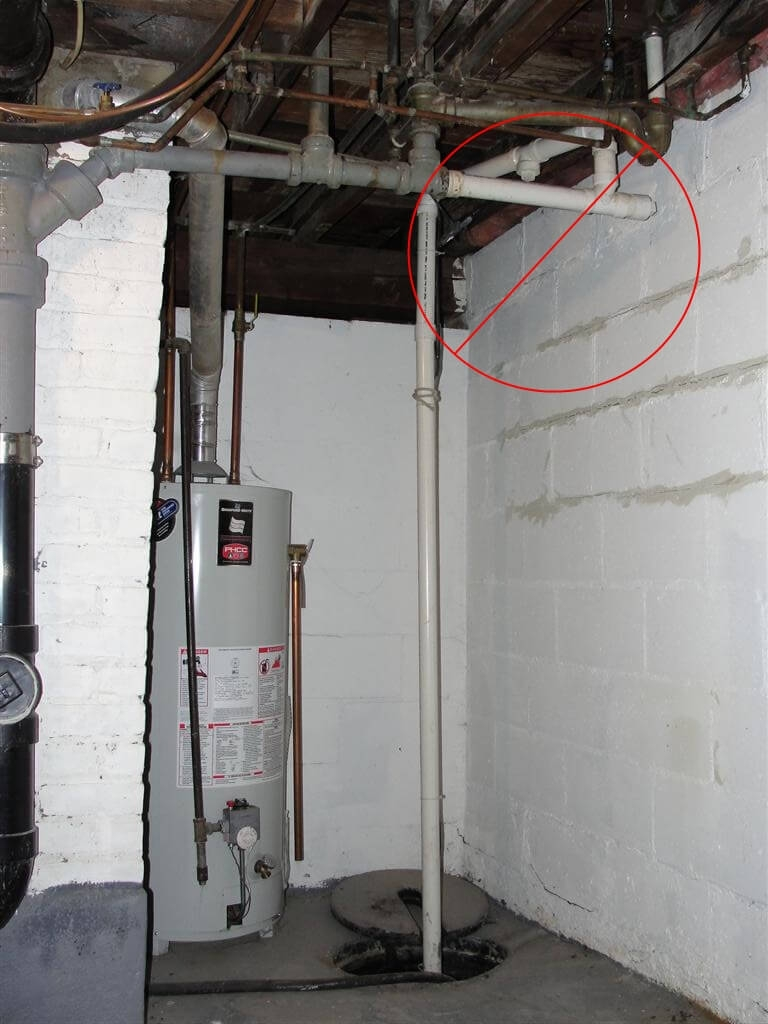 Basement Sewage Pump Venting