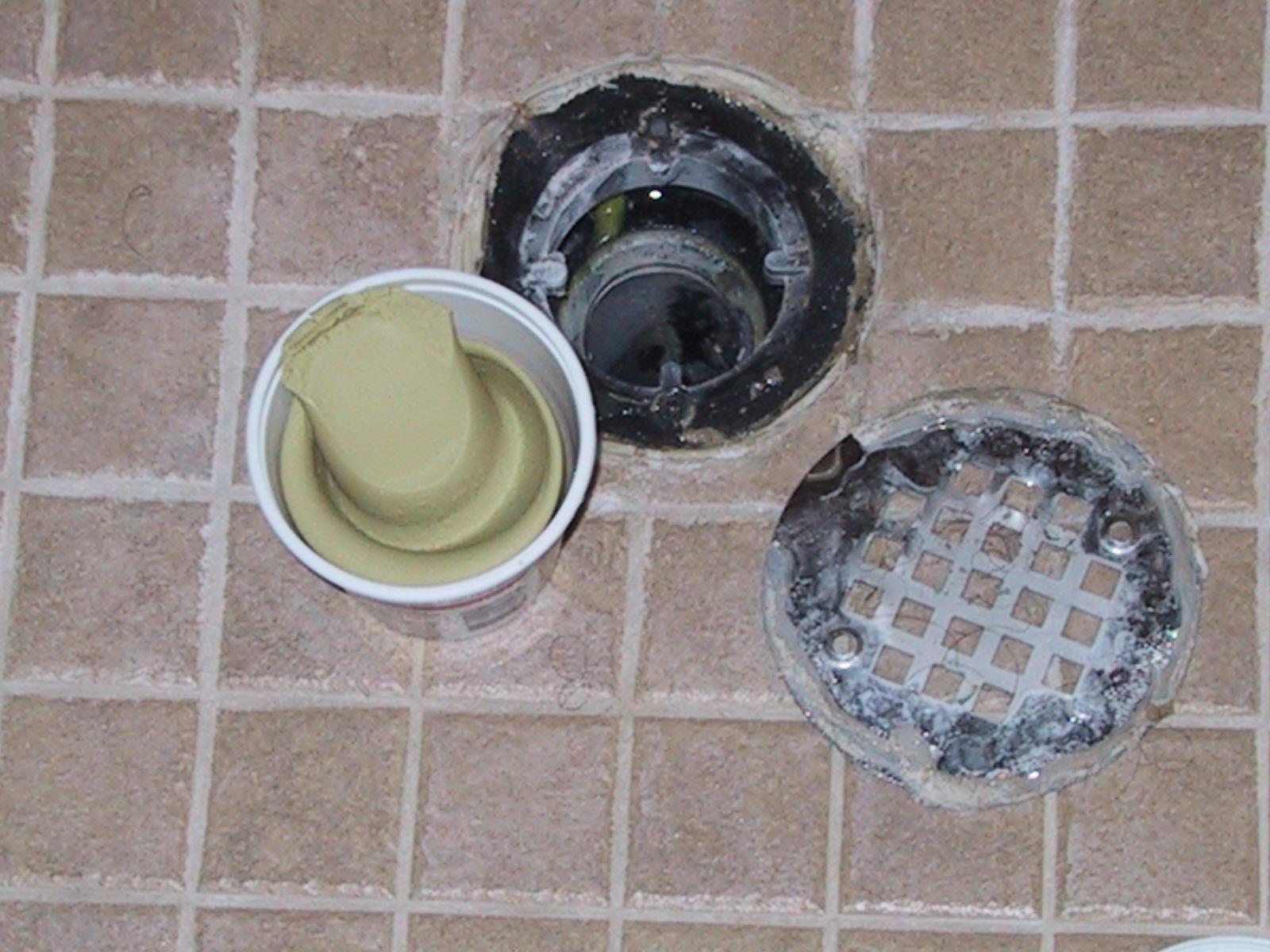 Basement Shower Drain Clogged