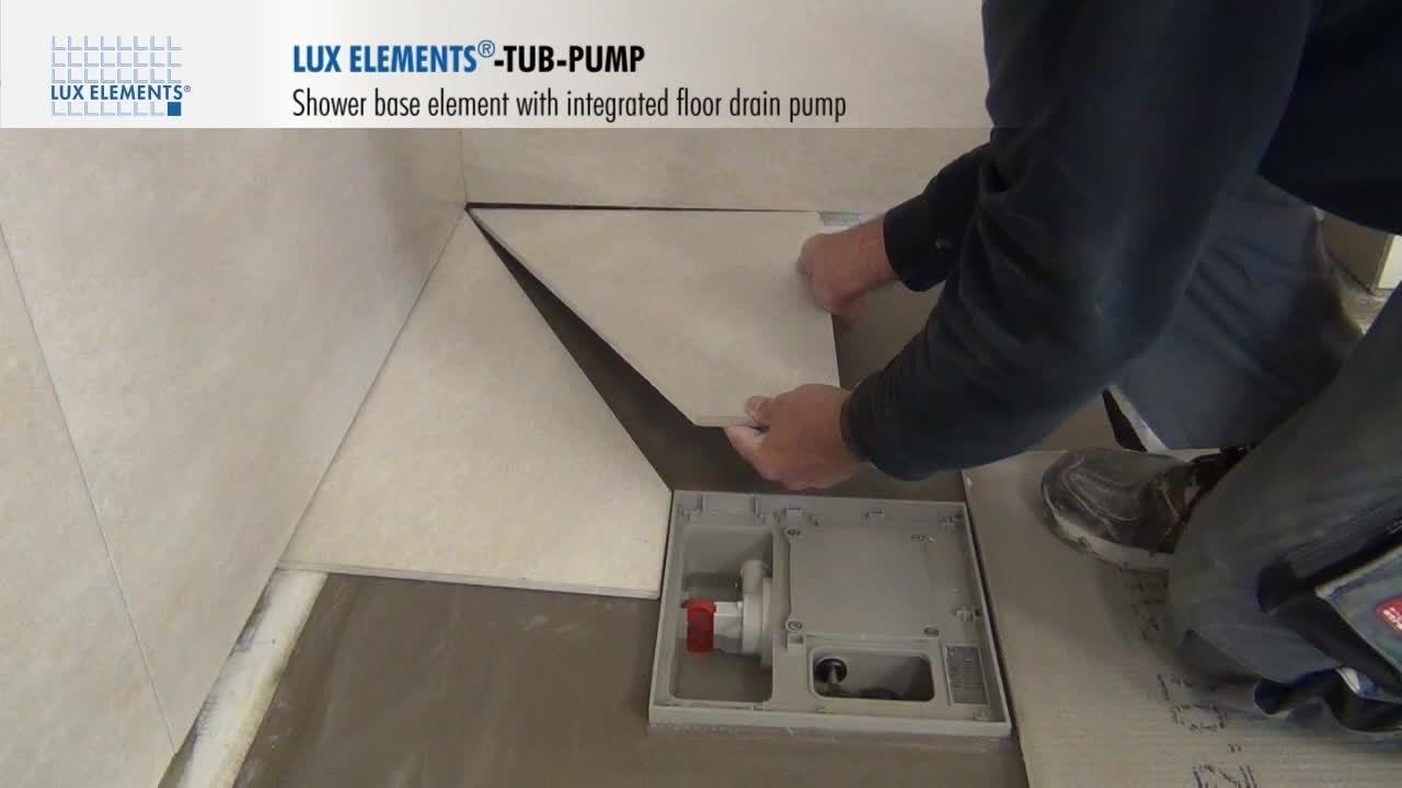 Basement Shower Lift Pump