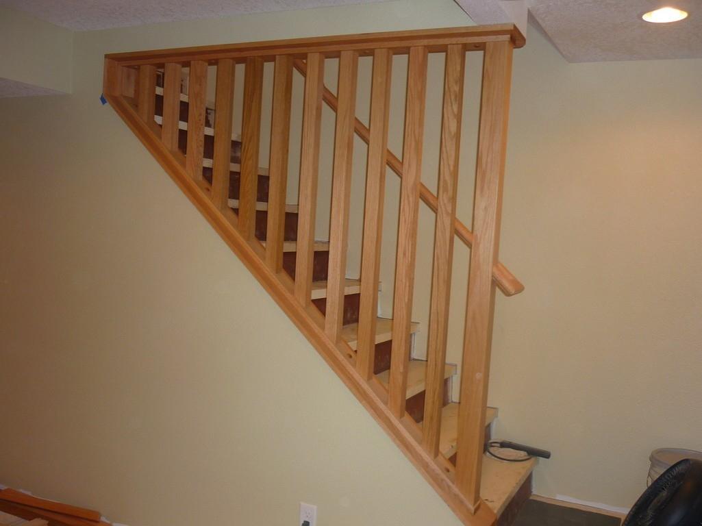 Basement Stair Railing Height