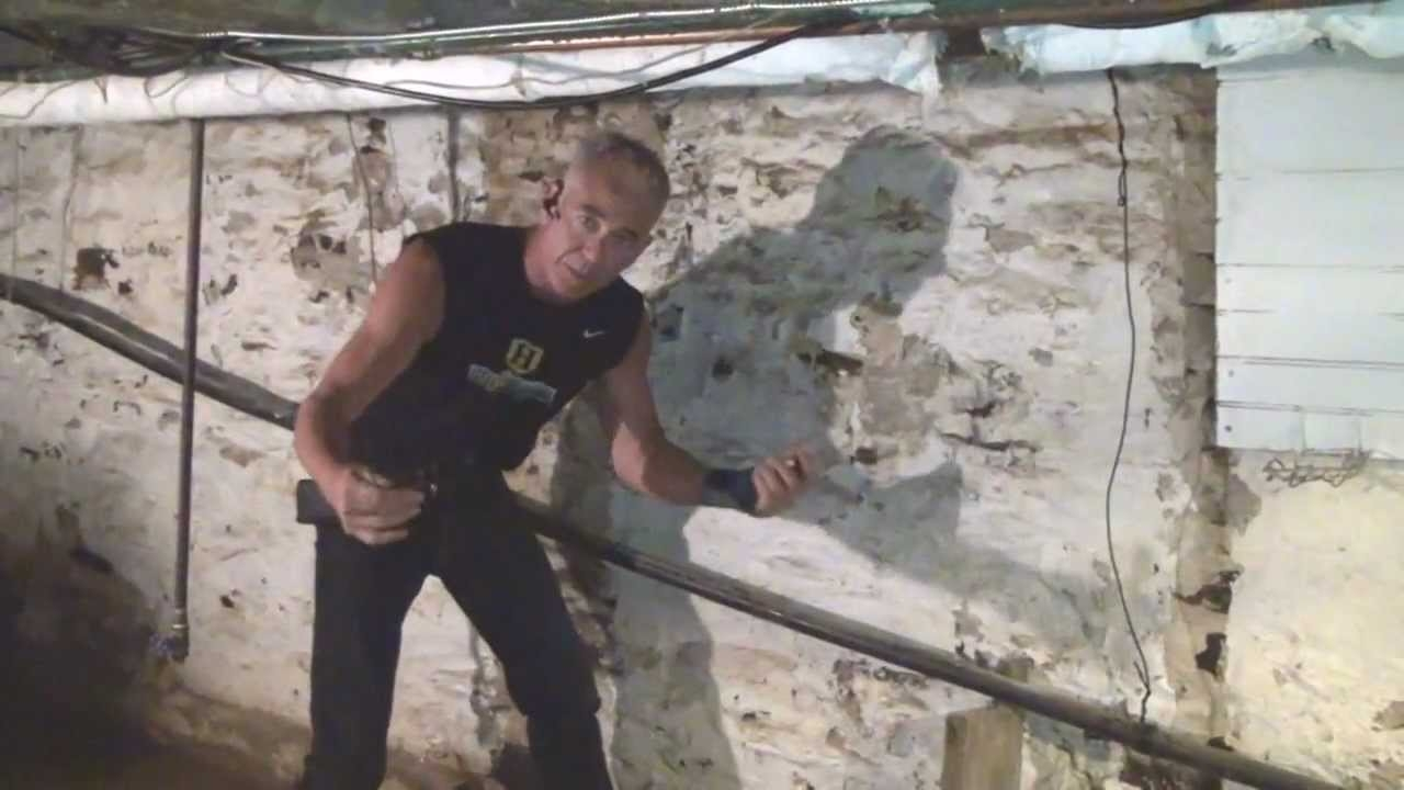 Basement Stone Wall Sealer