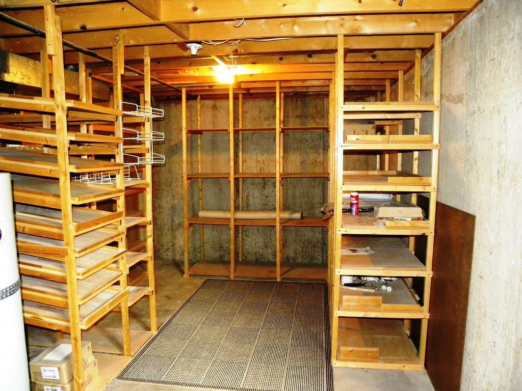 Basement Storage Shelving Systems