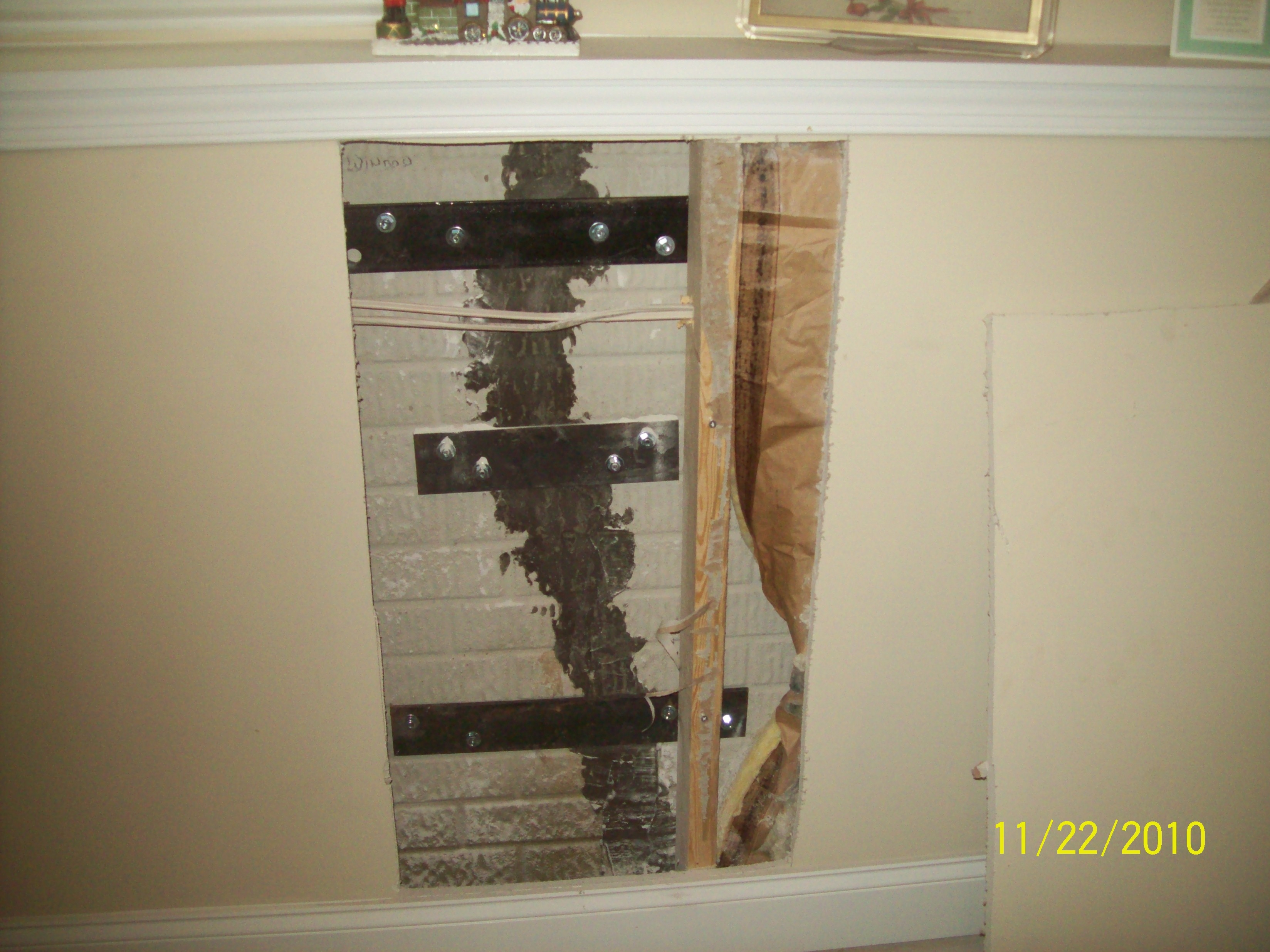 Basement Structural Foundation Repairs