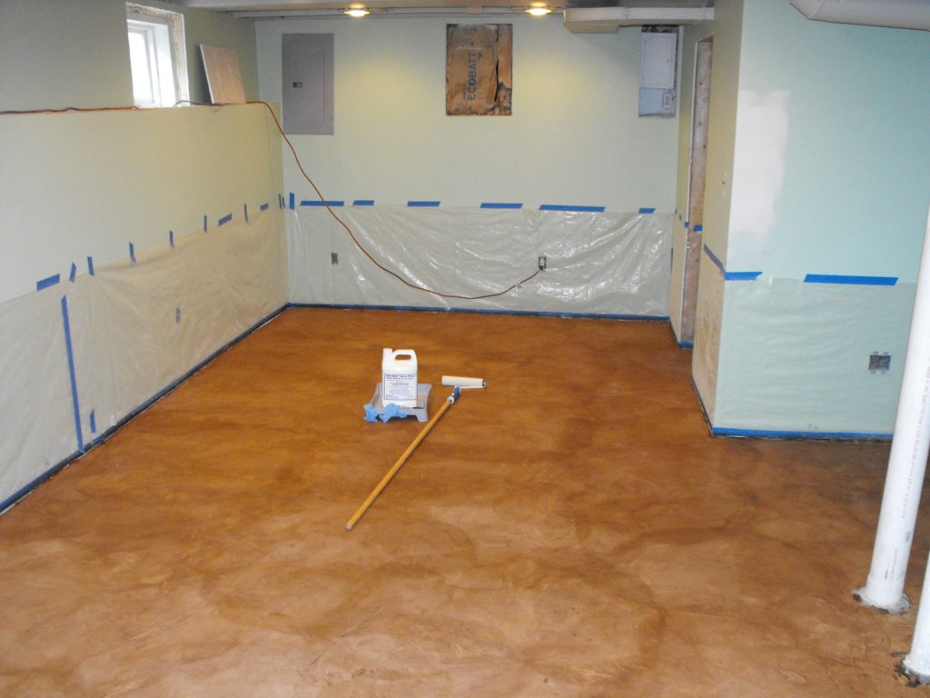 Basement Subfloor Dricore Alternative