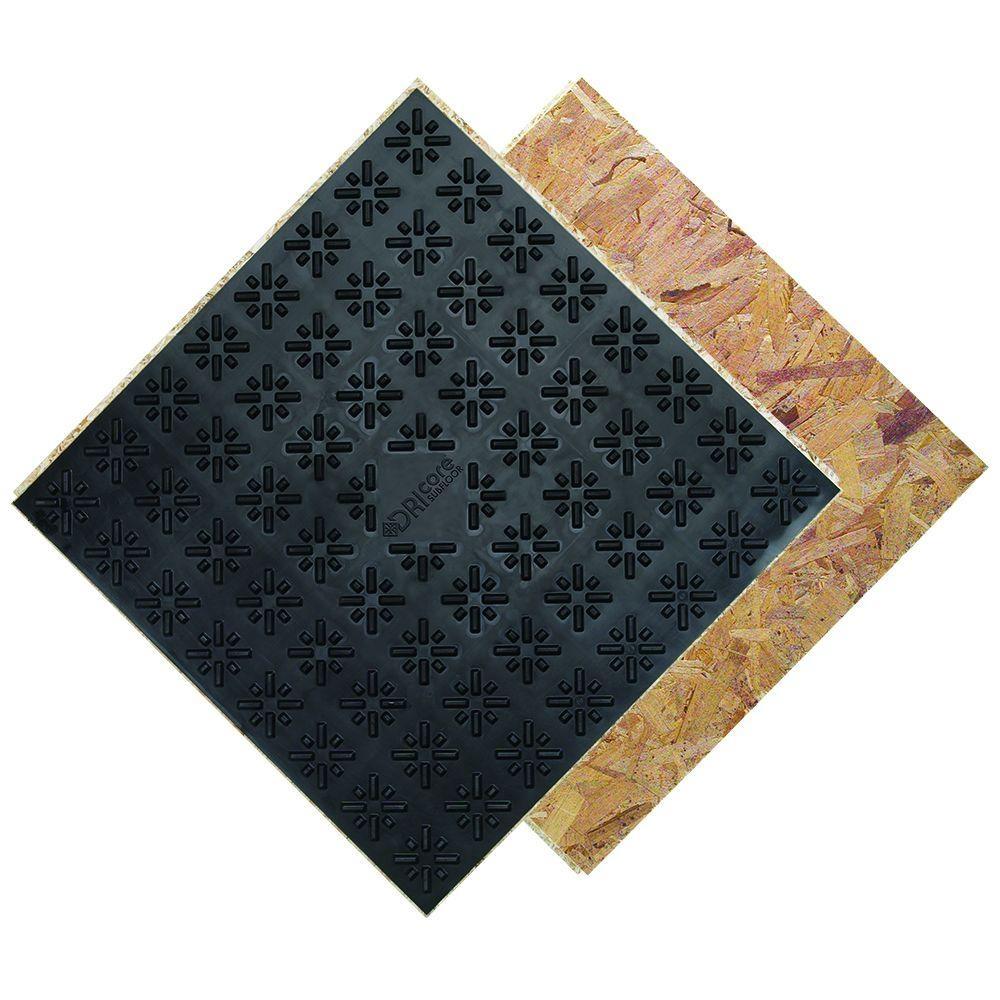 Basement Subfloor Tiles