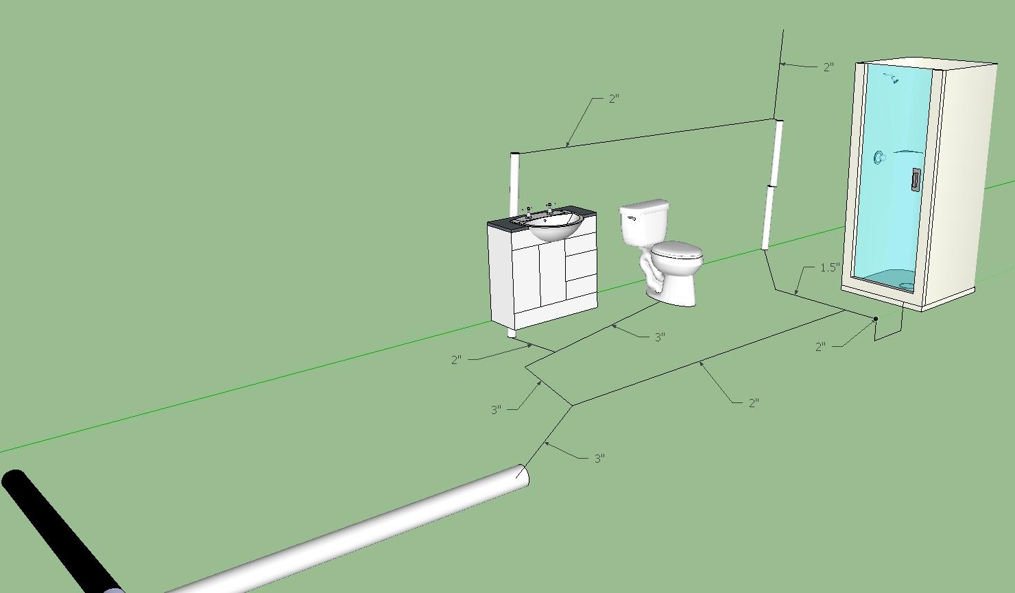 Basement Toilet Drain Diagram