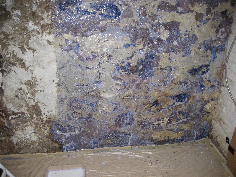 Basement Walls Peeling And Crumbling