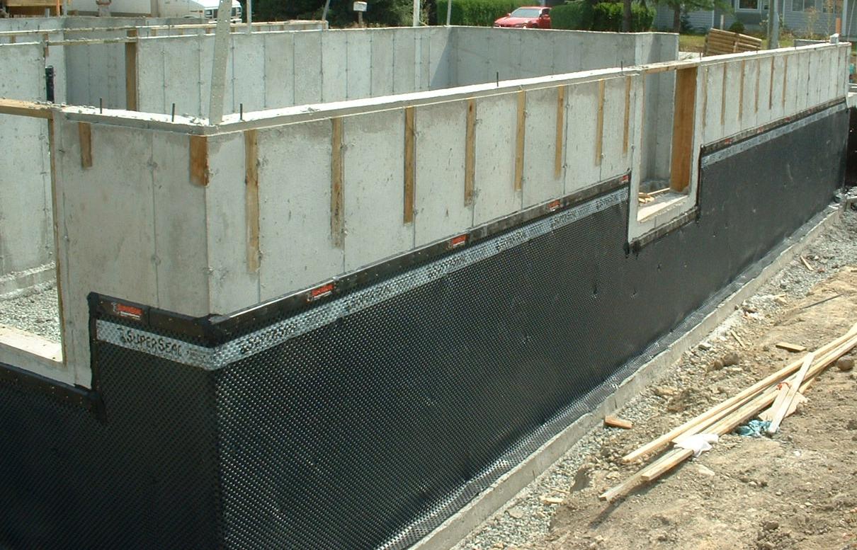 Basement Waterproofing Membrane Products