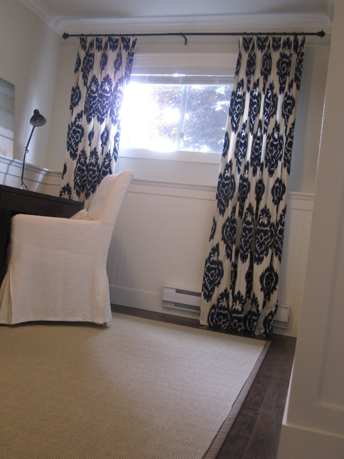 Basement Window Curtains
