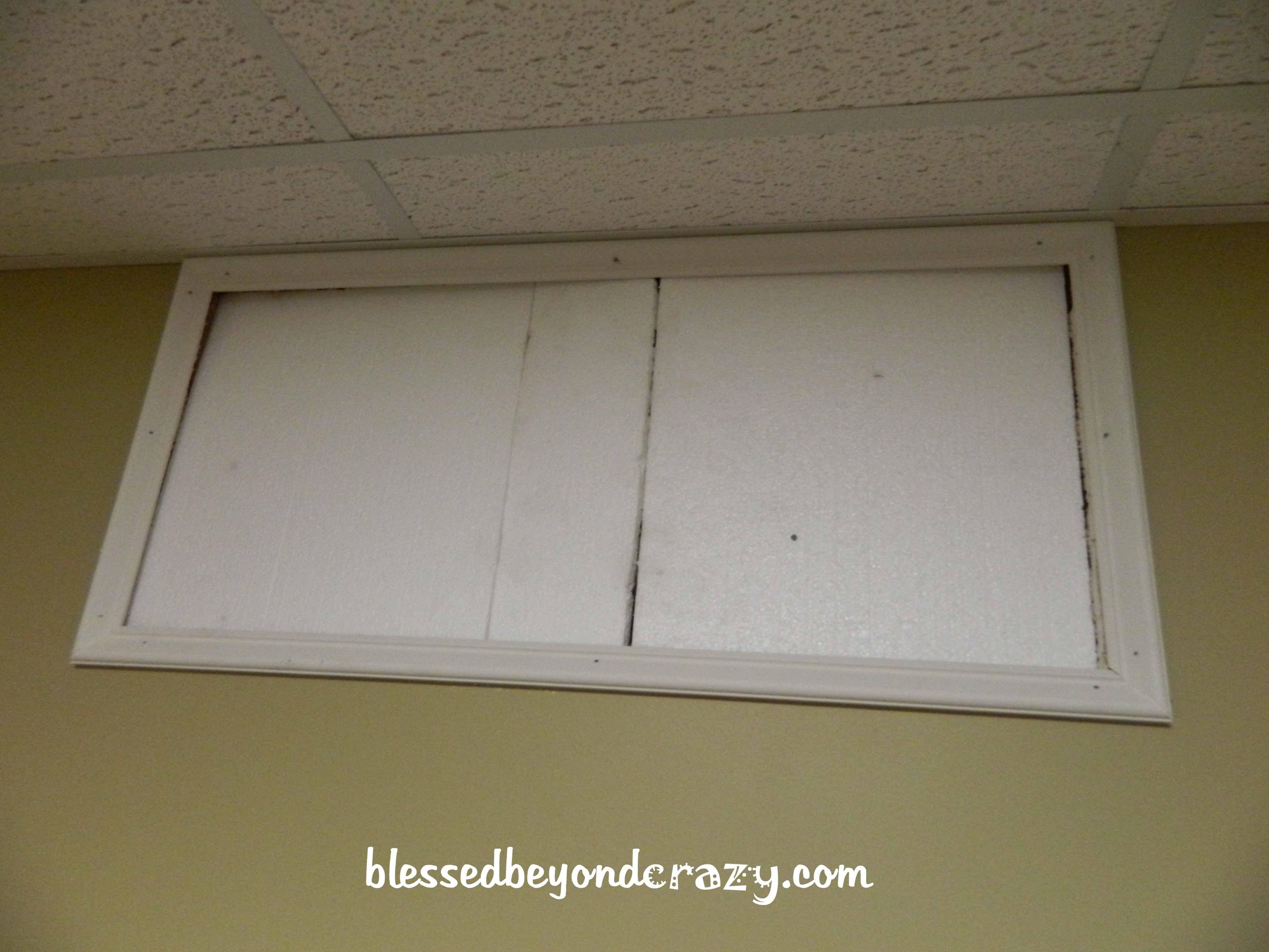 Basement Window Insulation Inserts