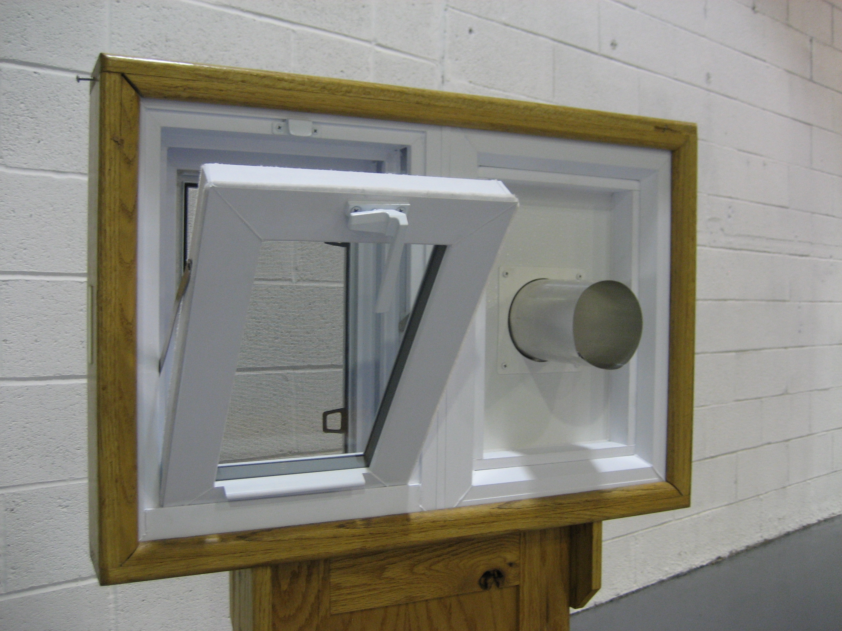 Basement Windows With Dryer Vents