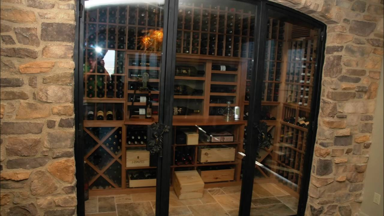 Basement Wine Cellar Doors