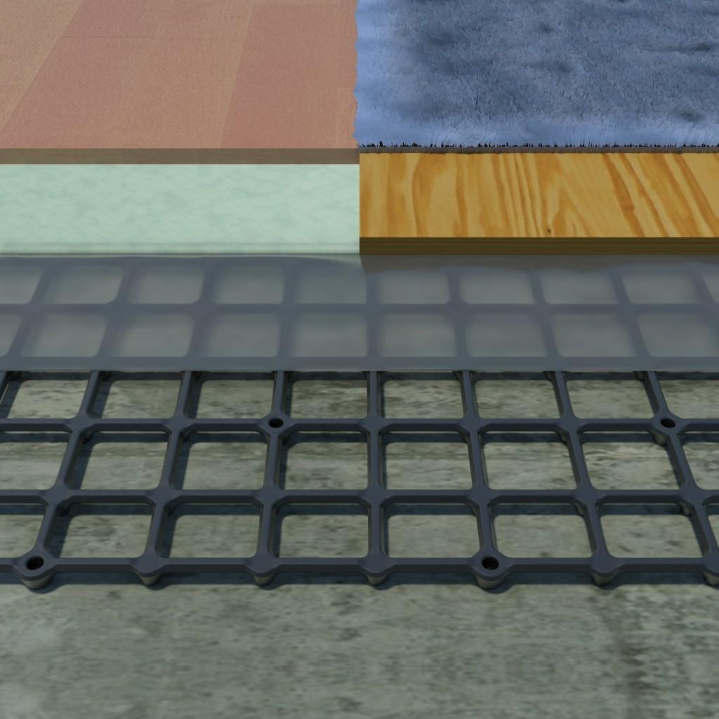 Best Basement Subfloor Panels