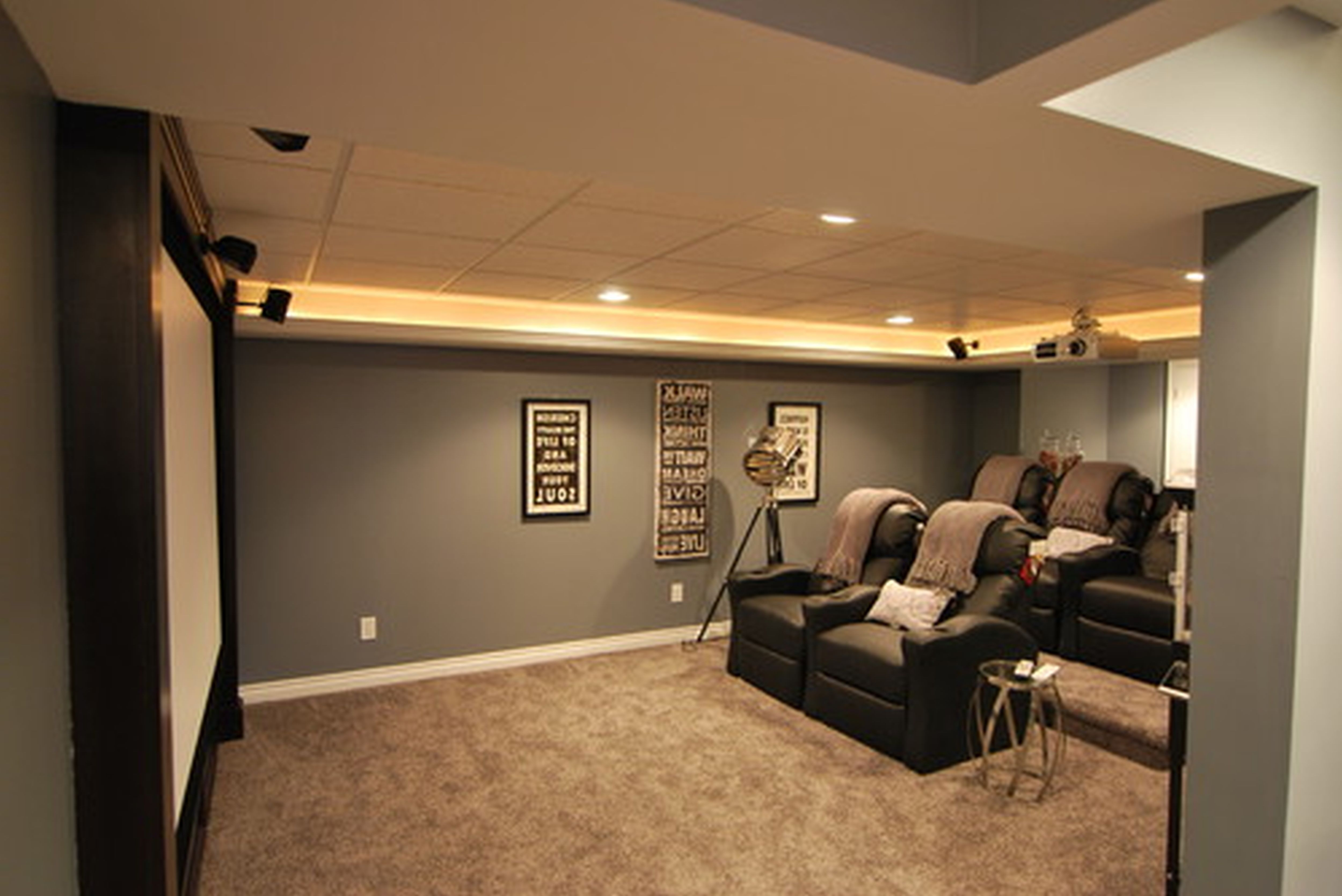 Best Colors For A Small Basement