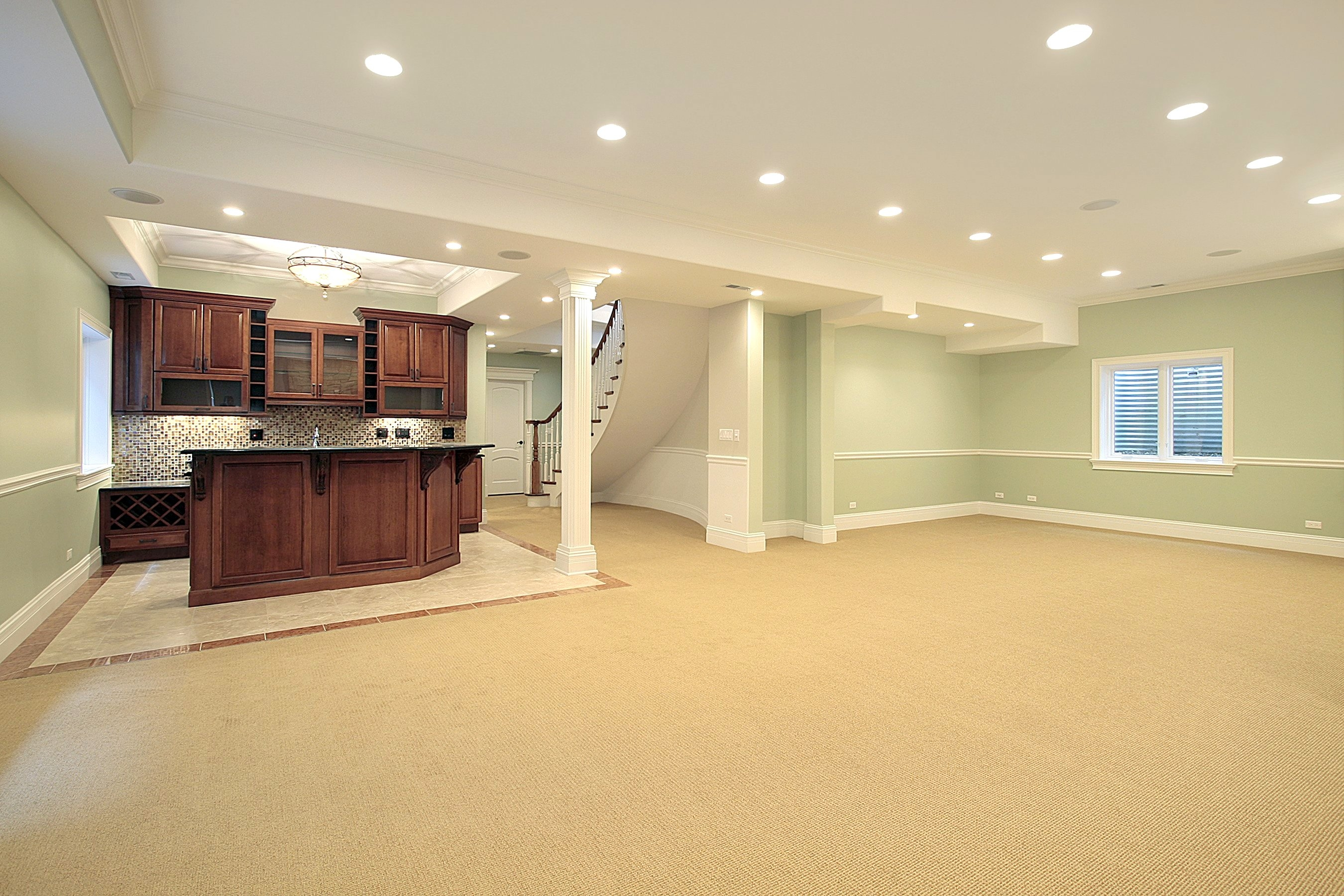 Best Colors For Basement Carpet