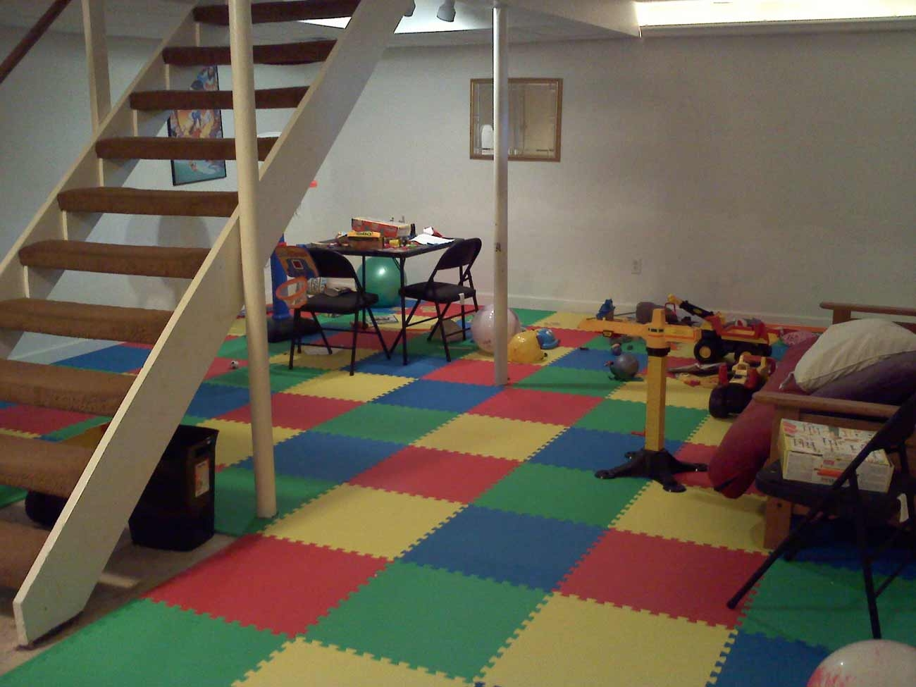 Best Flooring For Basement Playroom