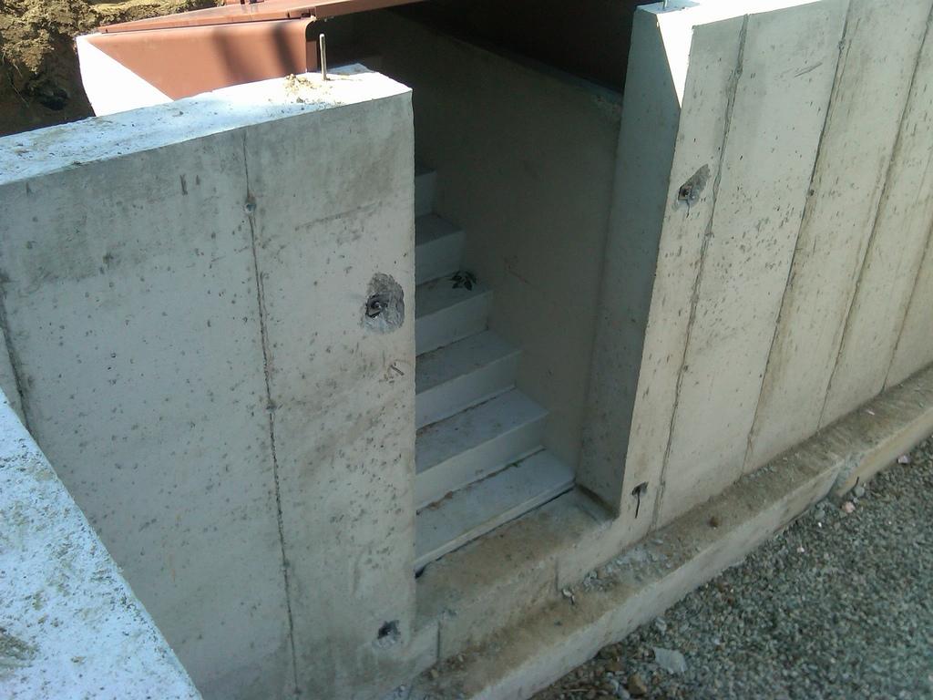 Bilco Precast Basement Stairs
