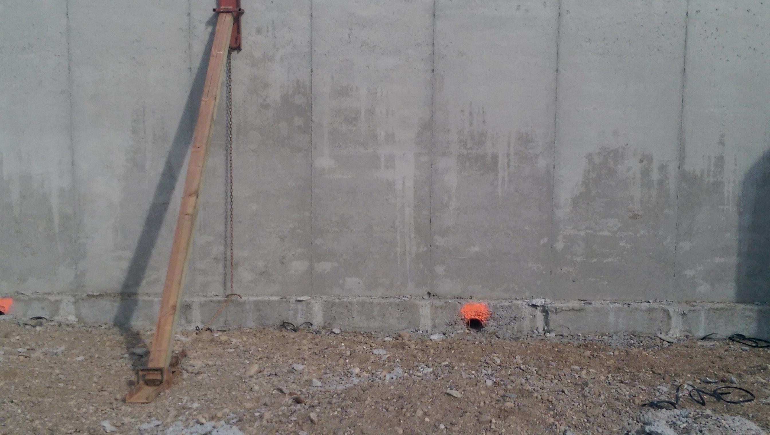 Bracing Basement Walls Backfill
