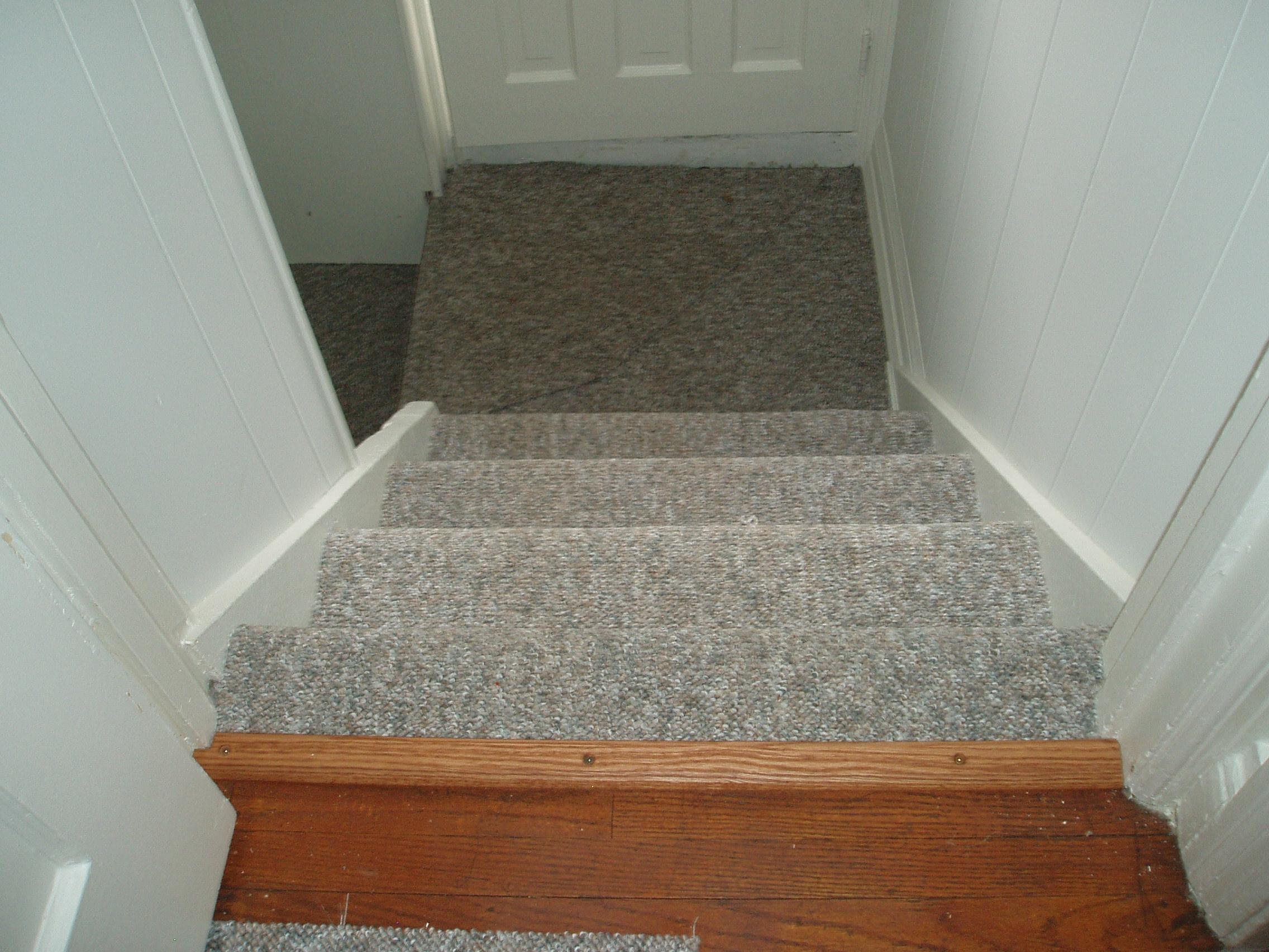 Carpeting Basement Stairs