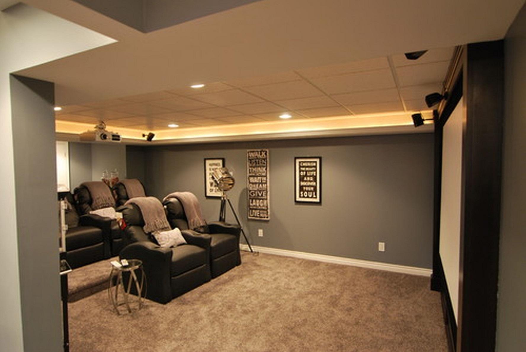 Carpeting Basement Walls