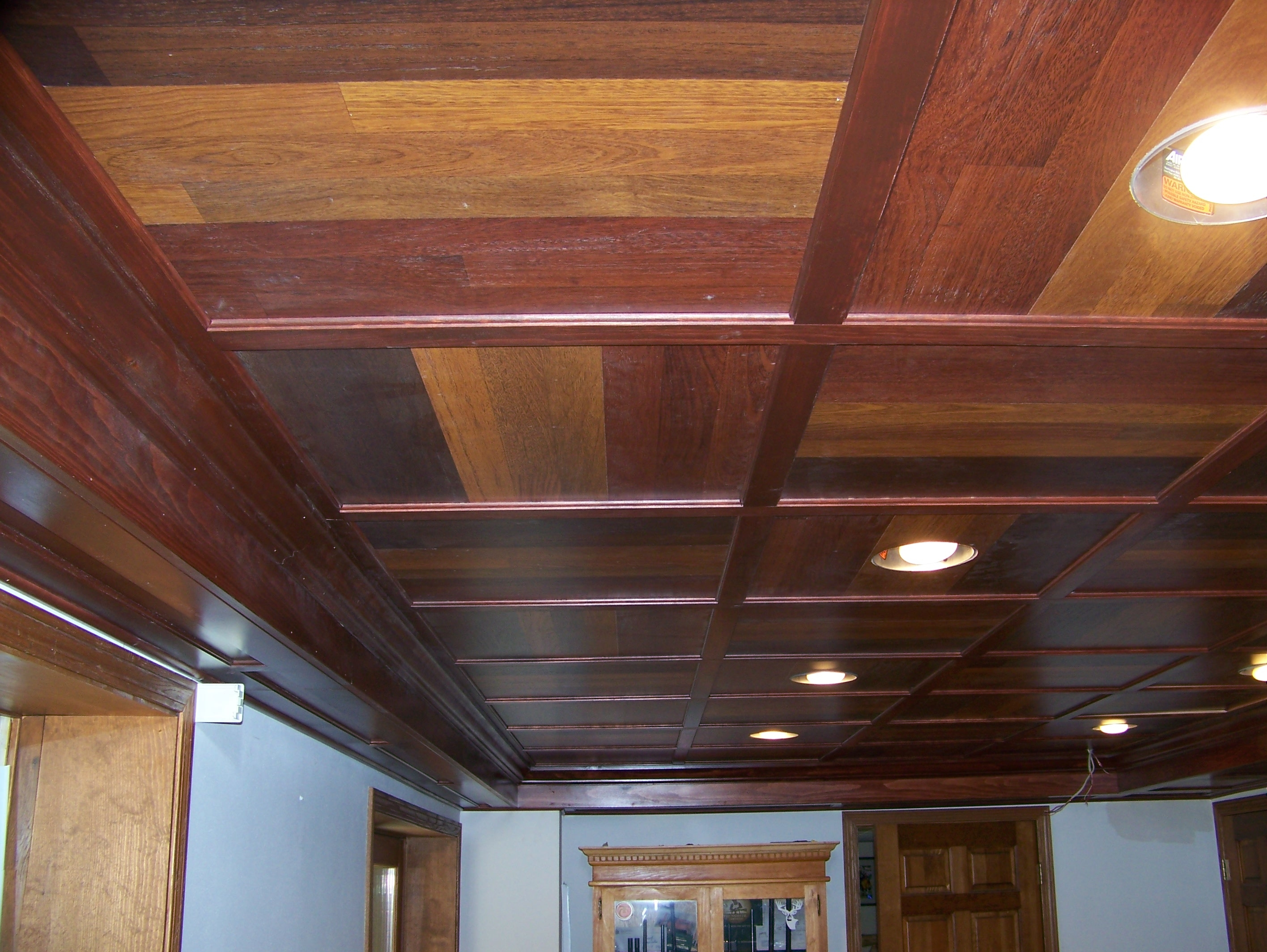 Ceiling Tiles For Basement Bathroomwooden basement ceiling with modern lighting drop ceiling tiles