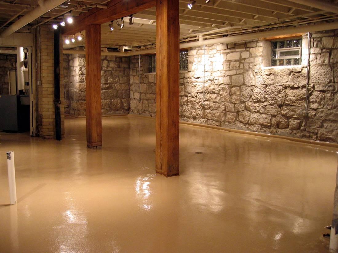 Cement Basement Floor Coverings