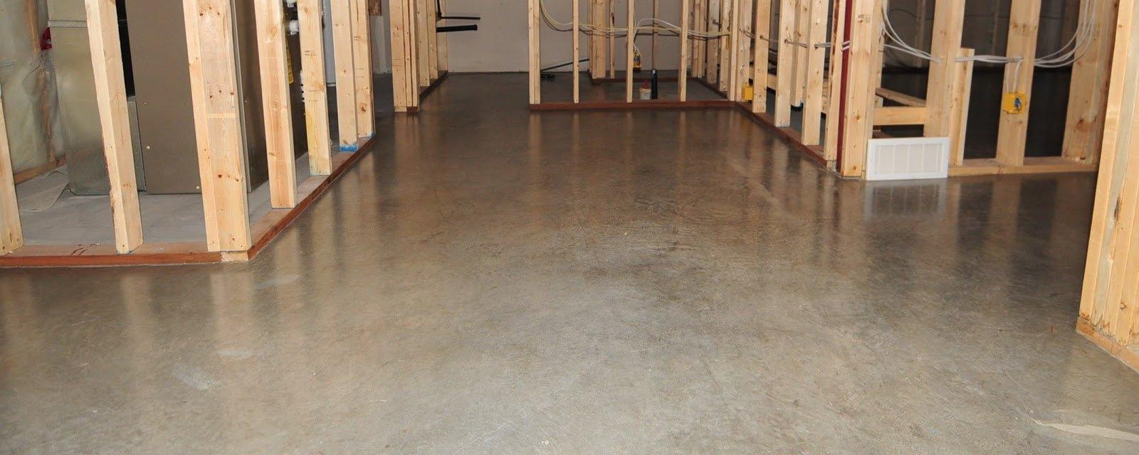 Cement Sealer For Basement Floor