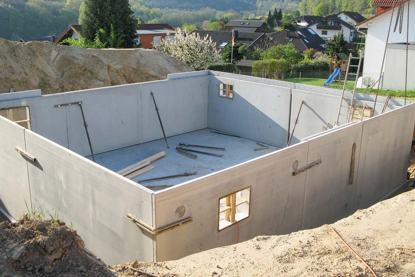 Constructing A Concrete Basement