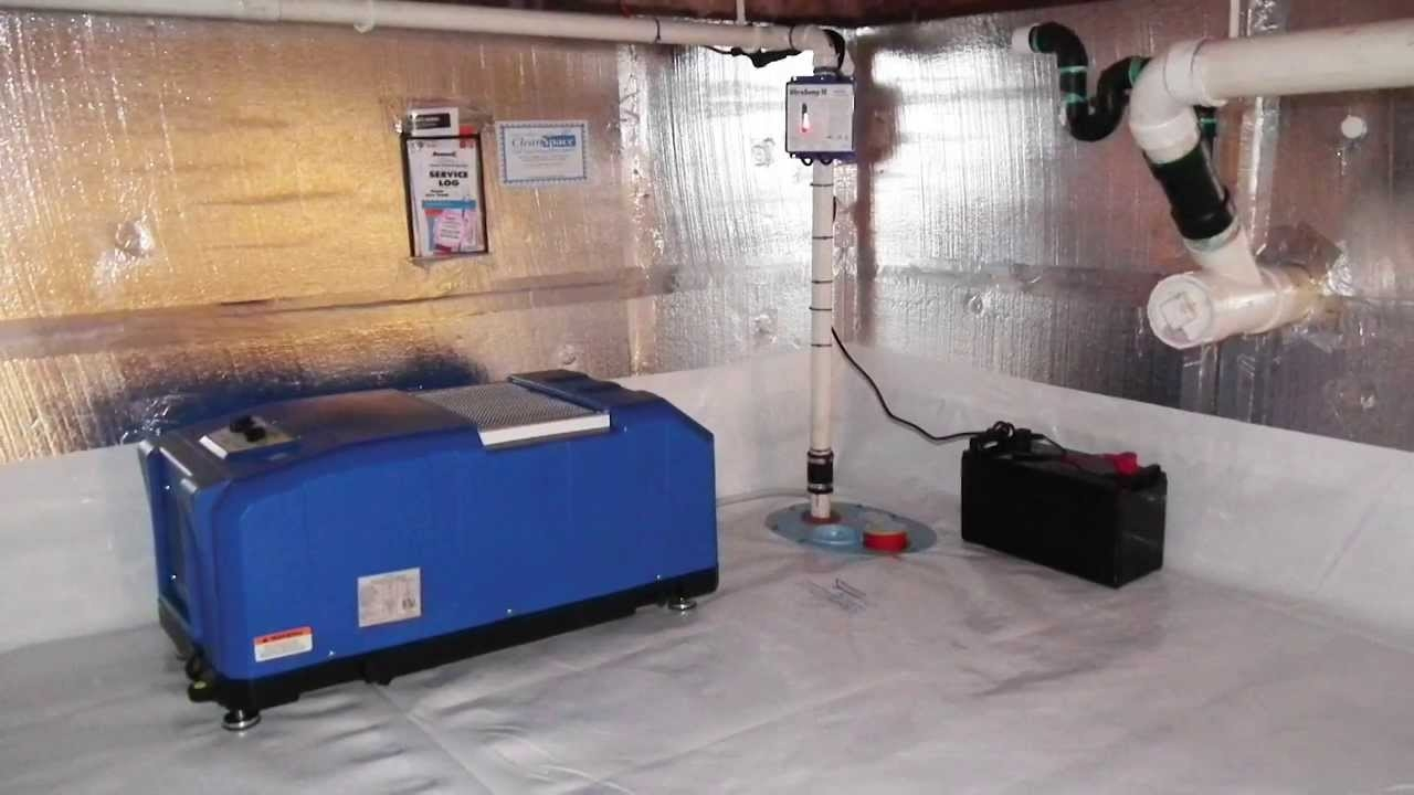 Controlling Humidity Finished Basement