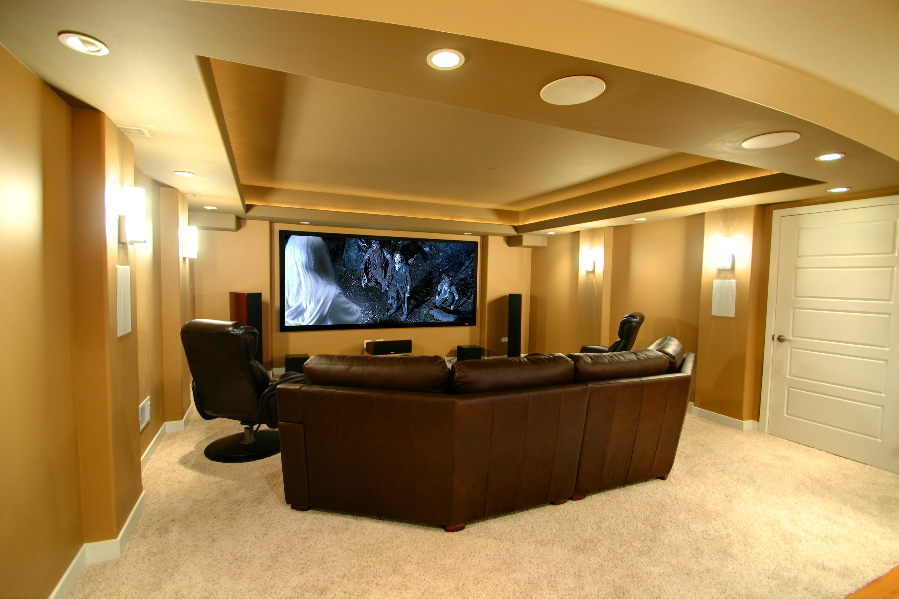 Cool Ideas For Finished Basement