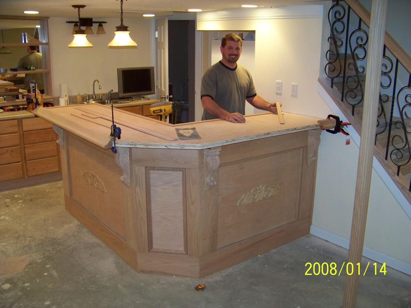 Corner Bars For Basements