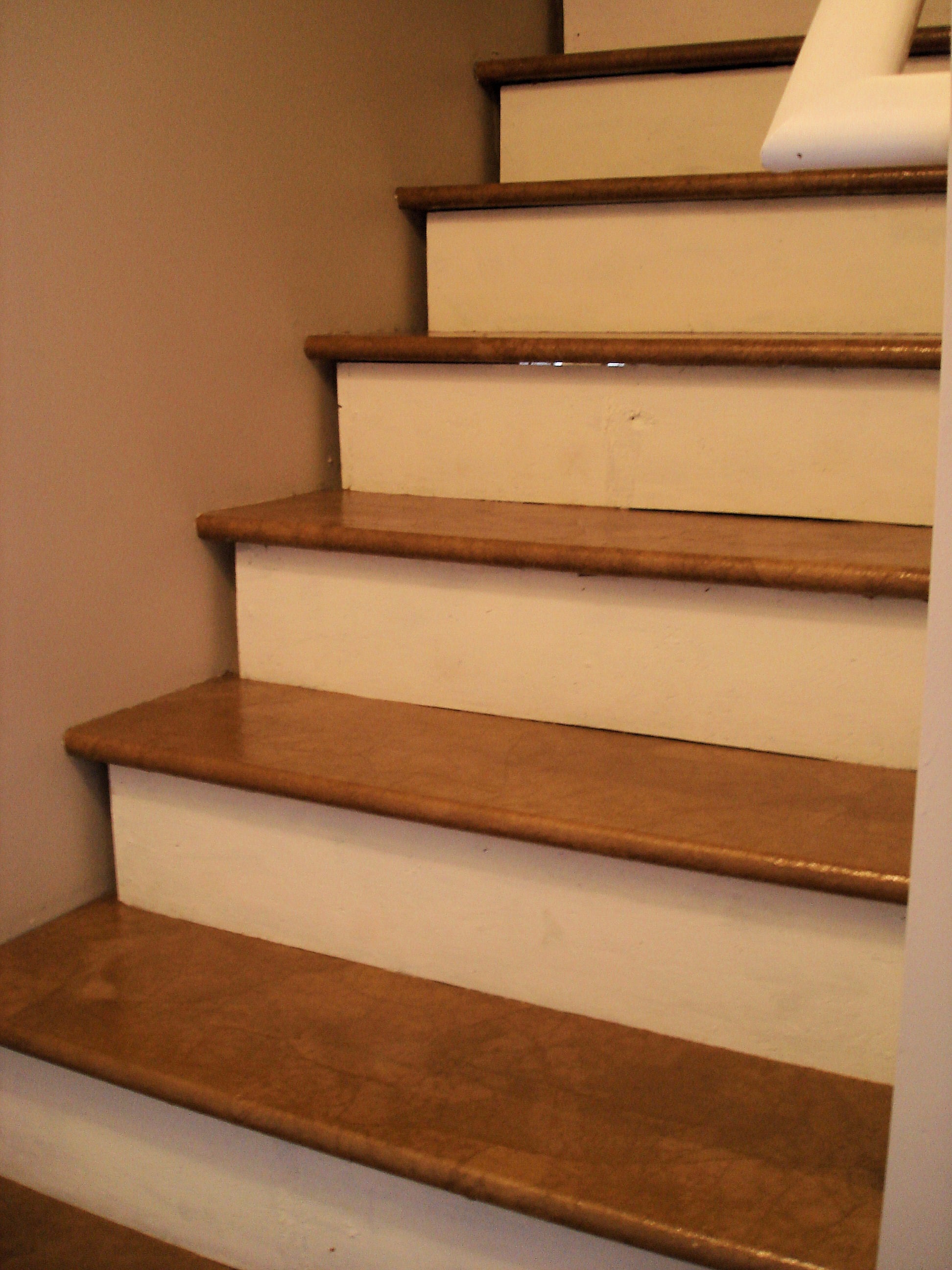 Covering Basement Stairs With Wood