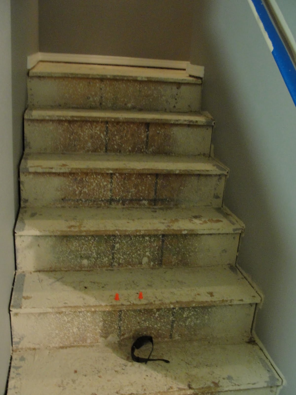 Covering Old Basement Stairs