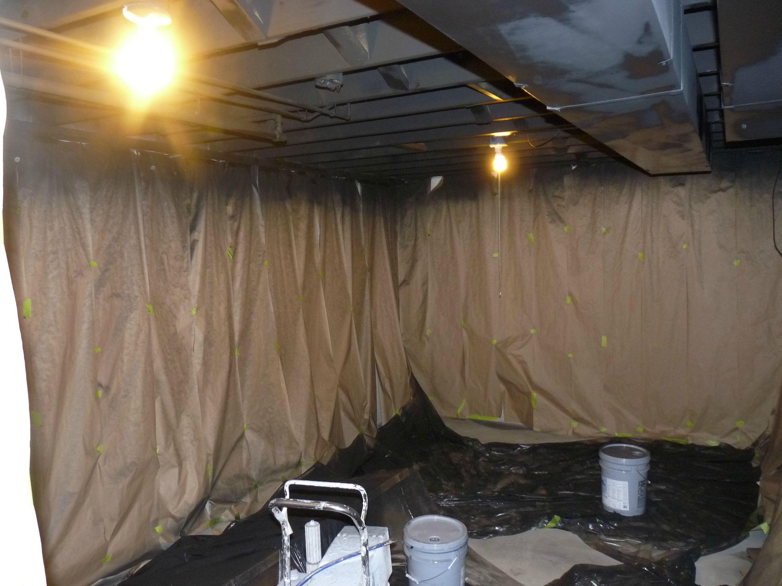 Covering Up Basement Walls