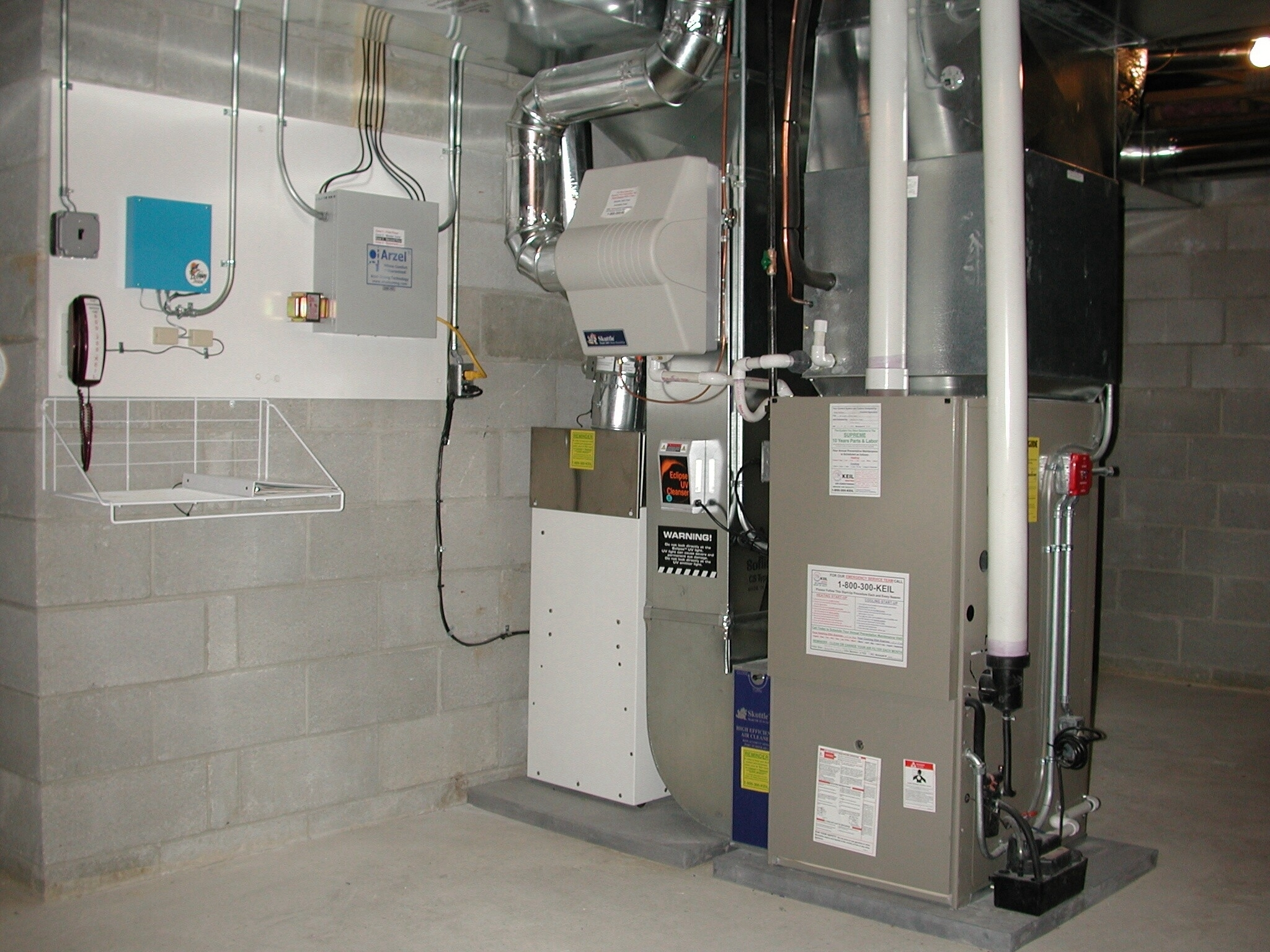 Dehumidifier Systems For Basements