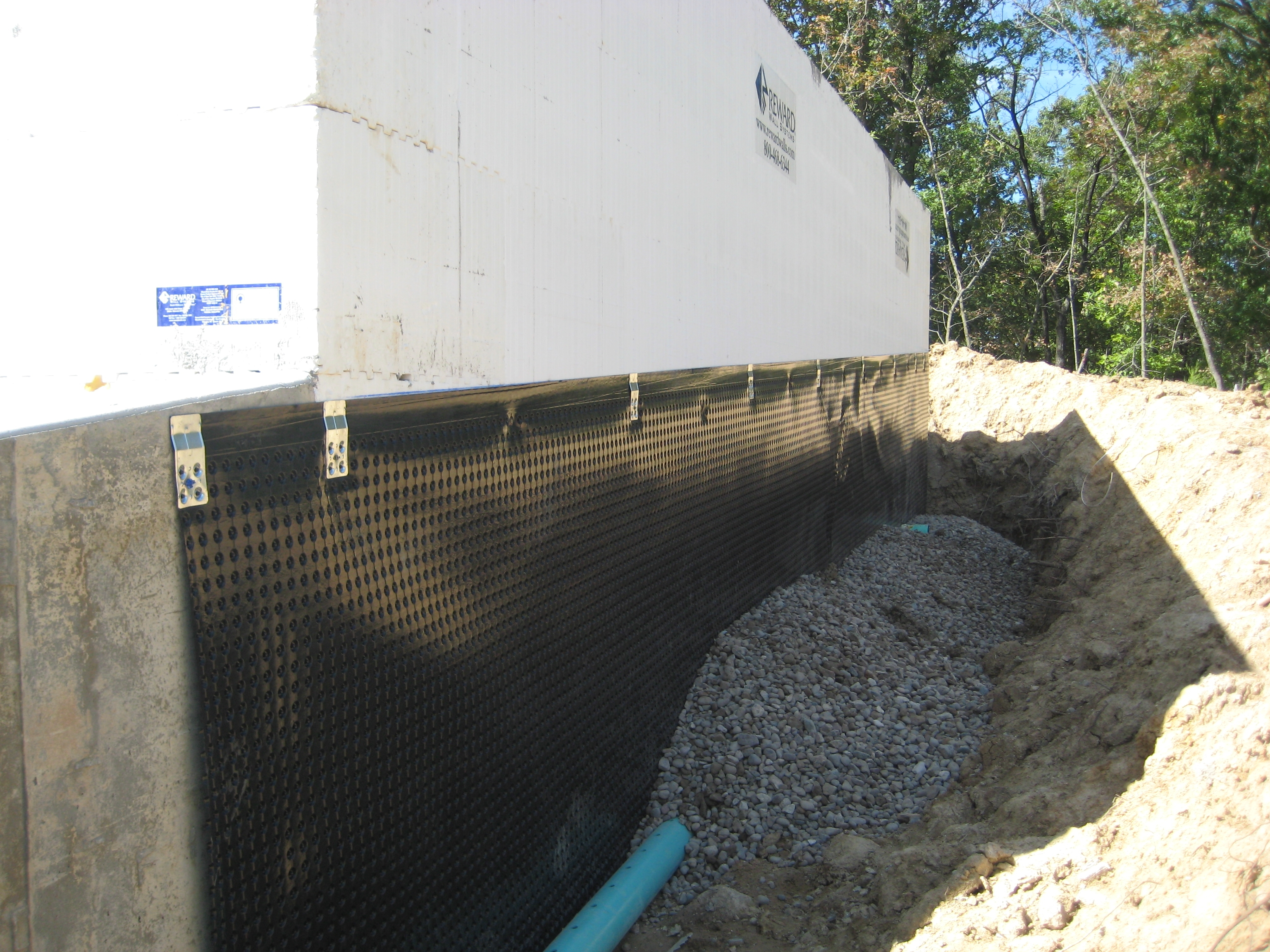 Drainage System For Basement Walls • BASEMENT